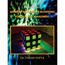 AMA & OR (CA Final Old Course Costing) : Study Material By CA Parag Gupta 12th Edition