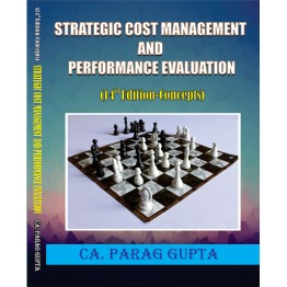 CA Final Costing SCMPE : Study Material By CA Parag Gupta 14th Edition