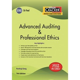CA FINAL Cracker - Advanced Auditing & Professional Ethics Old and New Syllabus by CA Pankaj Garg  For May 2021