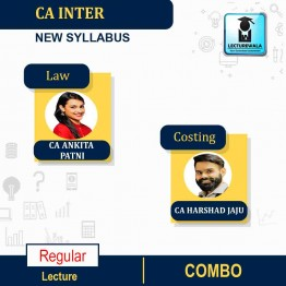 CA Inter Law & Costing New Syllabus Regular Course : Video Lecture + Study Material by CA Ankita Patni And CA Harshad Jaju (For May 2021 & Nov. 2021)