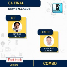 CA Final SCMPE (Latest Rec.) + Direct Tax New Syllabus Crash Course : Video Lecture + Study Material By CA Sanjay Aggarwal & CA Vinod Gupta (Fo  Nov. 2021)