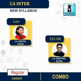 CA Inter Law & Eis Sm Combo New Syllabus Regular Course : Video Lecture + Study Material by CA Ankita Patni & CA Swapnil Patni (For May 2021 & Nov. 2021)