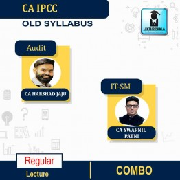 CA IPCC ITSM & Audit Regular Course Combo : Video Lecture + Study Material By CA Swapnil Patni & CA Harshad Jaju (For May 2021 & Nov. 2021)