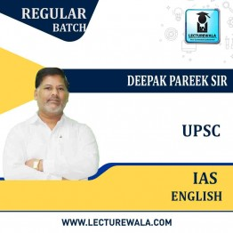 IAS English Full Course for UPSC Exams : Video Lectures + Study Material By Dr. Deepak Pareek