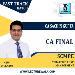 CA Final SCMPE  Crash Course New Syllabus : Video Lecture + Study Material By CA Sachin Gupta (For Valid Till Nov. 2022)