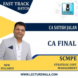 CA Final SCMPE Crash Course New Syllabus : Video Lecture + Study Material By CA Satish Jalan (For May 2021 & Nov. 2021)