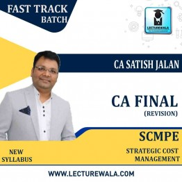 CA Final SCMPE Revision Course New & Old Syllabus : Video Lecture + Study Material By CA Satish Jalan (For May 2021 & Nov. 2021)