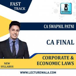 CA Final Law Crash Course New Syllabus : Video Lecture + Study Material By CA Swapnil Patni (For May 2021 & Nov. 2021)