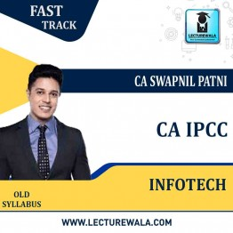 CA Ipcc Infotech Crash Course : Video Lecture + Study Material By CA Swapnil Patni (For May 2021 & Nov. 2021)