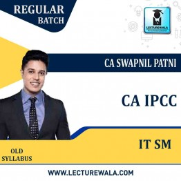 CA IPCC ITSM Regular Course : Video Lecture + Study Material By CA Swapnil Patni (For May 2021 & Nov. 2021)