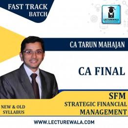 CA Final SFM (Old/New Syllabus) Crash Course : Video Lecture + Study Material By CA Tarun Mahajan (For May / Nov. 2021)