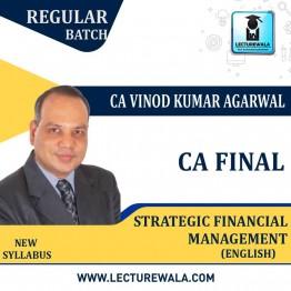 CA Final SFM New Syllabus (1.2 Views) Regular Course : Video Lecture + Study Material By CA Vinod Kumar Agarwal (For Nov. 2021 & May 2022)