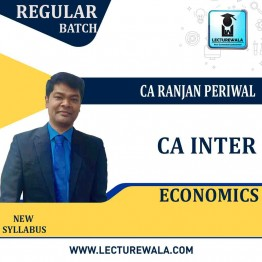 CA Inter Economics New Syllabus : Video Lecture + Study Material by CA Ranjan Periwal (For Nov. 2021 and May 2021)