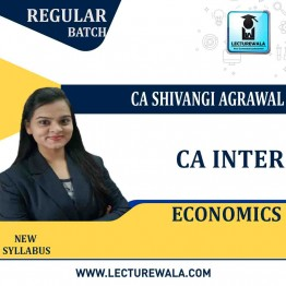 CA Intermediate Economics For Finance Regular Course : Video Lecture + Study Material By CA Shivangi Aggarwal (For May 2021 & Nov. 2021)