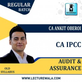 CA IPCC Audit and Assurance Regular Course : Video Lecture + Study Material By CA Ankit Oberoi (For Nov. 2020 & Onwards)