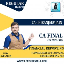 CA Final FR Chapter Cosnsolidated Financial Statement Full Course : Video Lecture + E - Book By CA Chiranjeevi Jain (For May 2021 & Nov. 2021)