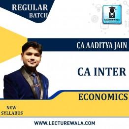 CA Inter Economics Regular Course : Video Lecture + Study Material By CA Aaditya Jain (For May 2021 & Nov. 2021)