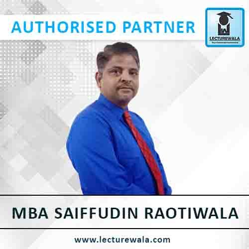 MBA Saiffudin Raotiwala