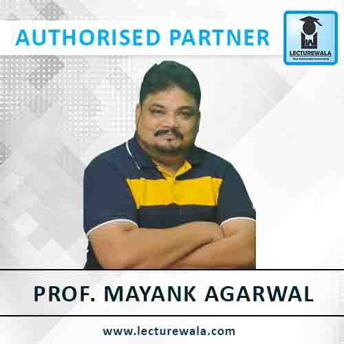 Prof. Mayank Agarwal