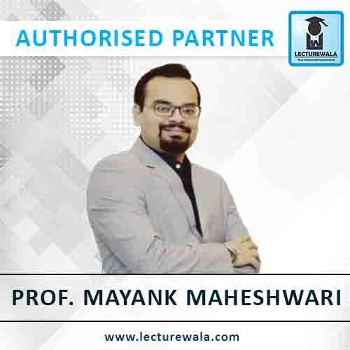 Prof. Mayank Maheshwari