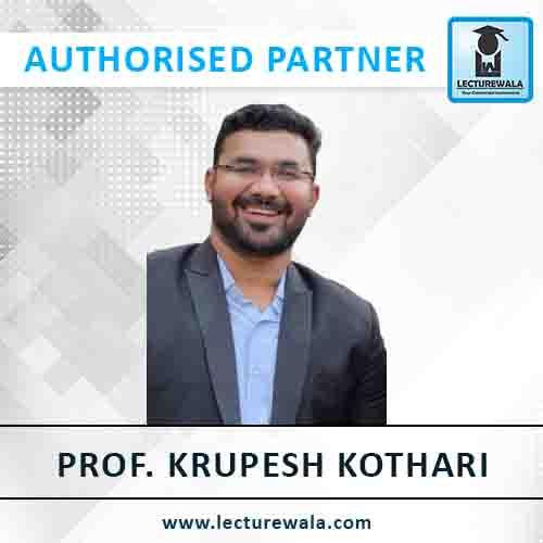 Prof. Krupesh Kothari