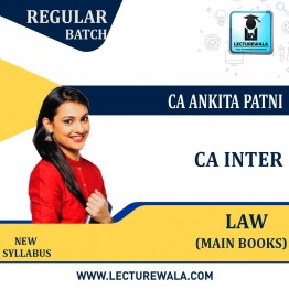 CA Inter Corporate & Other Law New Syllabus : Main Books By CA Ankita Patni (For May 2021 TO NOV.2021)