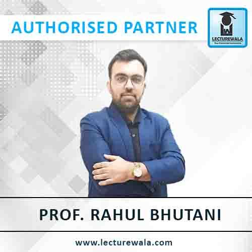 Prof. Rahul Bhutani