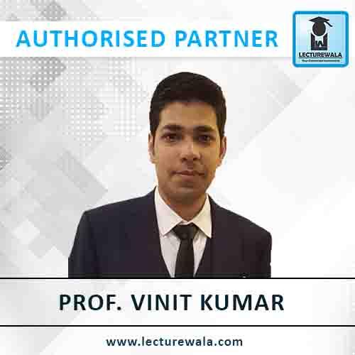 Prof. Vinit Kumar