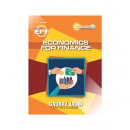 CA Inter Economics For Finance Paper 8B New Course Book : BY CA Gaurav Jainn (For Nov. 2020)
