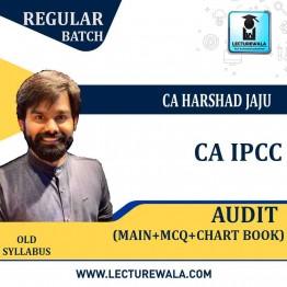 CA Ipcc Audit Full Set : Study Material By CA Harshad Jaju (For NOV 2021 / MAY 2022 / NOV 2022)