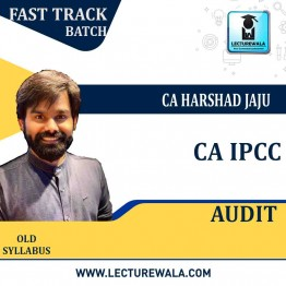 CA Ipcc Audit Old Syllabus Crash Course : Video Lecture + Study Material By CA Harshad Jaju (For May 2021 & Nov. 2021)