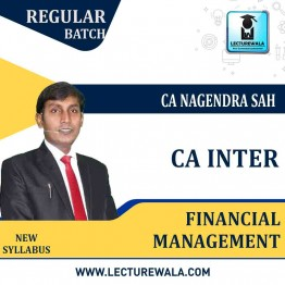 CA Inter FM Regular Course : Video Lecture +  Study Material by CA Nagendra Sah (For MAY 2021 TO NOV.2021)