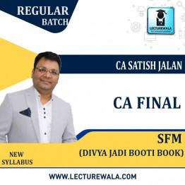 CA Final SFM New Syllabus Divya Jadi Booti : Study Material By CA Satish Jalan (For Nov. 2020)