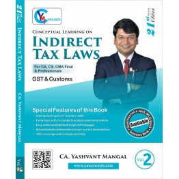 CA Final Indirect Tax Questionnaire + MCQ Book : Study Material By CA Yashvant Mangal (For Nov. 2021 and May 2022)