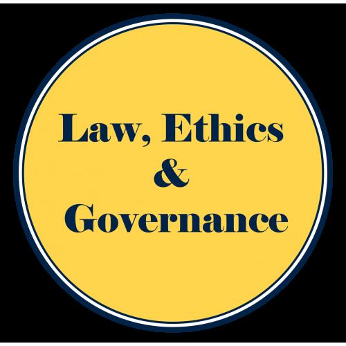 Laws, Ethics and Governance