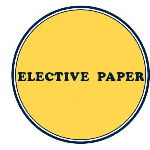 Elective Paper