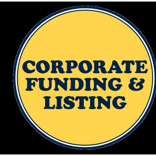 Corporate Funding & Listings