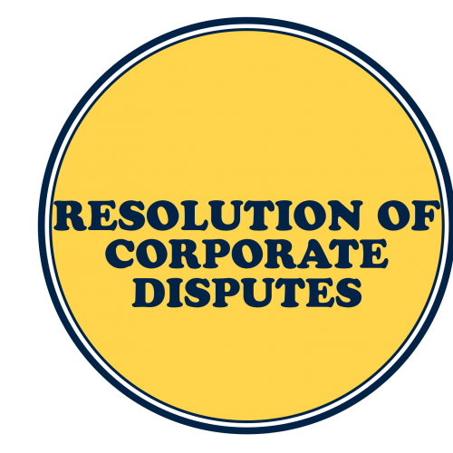 Resolution of Corporate Disputes