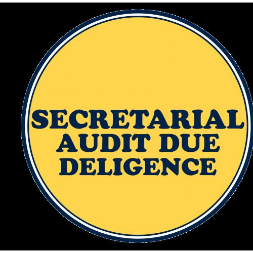 Secretarial Audit Due Deligence