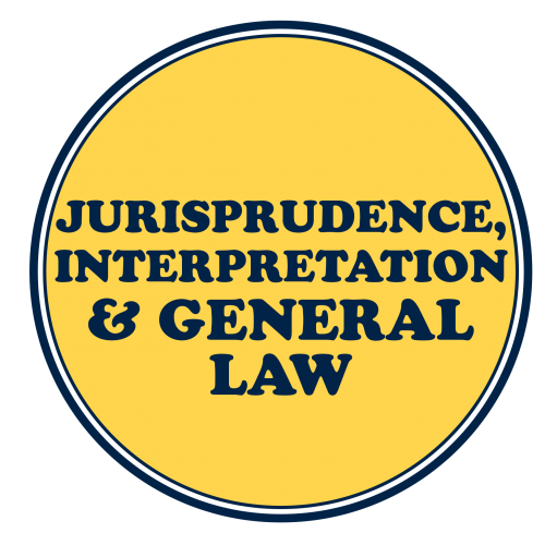 Jurisprudence, Interpretation and General Laws