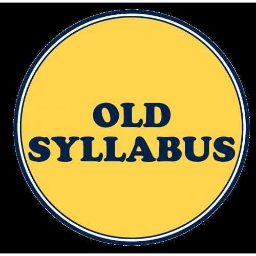 Old Syllabus