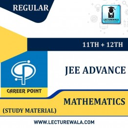 Study Material Package Complete-Mathematics For JEE Advanced | By Career Point