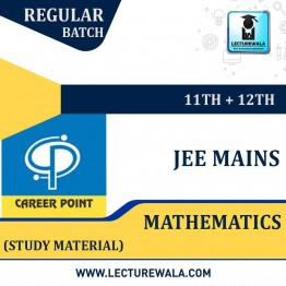 Study Material Package Complete-Mathematics For JEE Mains | By Career Point