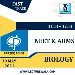 Biology Video Lectures & Online Test Seris (11th+12th) | NEET & AIIMS | Validity 30 May 2021 | Medium : Mixed Language (E & H) | By Career Point