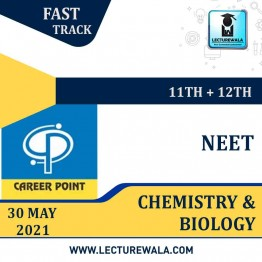 Chemistry & Biology Video Lectures (11th+12th) with Online Test Series | NEET | Validity 30 May 2021 | Medium : Mixed Language | By Career Point