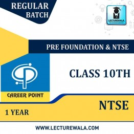 Pre-Foundation Basic & NTSE Study Material For Class 10th (1 Year) | By Career Point