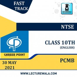 Video Lecture for NTSE | Validity : 30 May 2021 | Covers : Class 10 PCMB | Medium : English Language | By Career Point