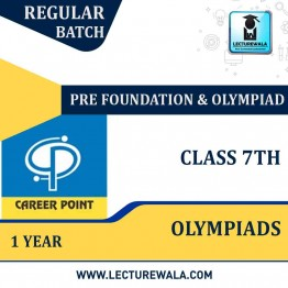 Pre-Foundation Basic & Olympiads Study Material For Class 7th (1 Year) | By Career Point
