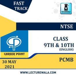 Video Lecture for NTSE | Validity : 30 May 2021 | Covers : PCMB Class 9 & 10 | Medium : English Language | By Career Point