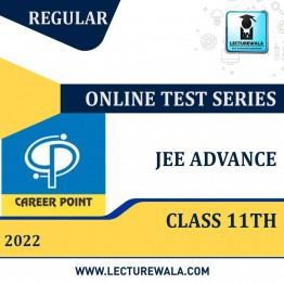 Online Test Series For JEE Advanced 2022 (For 11th Class) | By Career Point